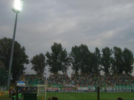"""Slask - Legia n-a avut parte de nici un fan al oaspetilor din Varsovia. Trecutul """"de lupta"""" i-a tinut departe de Wroclaw"""